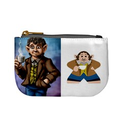 Just Halflings (tek) By Chris Schreiber   Mini Coin Purse   Nkbo5i5ltamg   Www Artscow Com Front