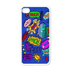 Bubbles Apple Iphone 4 Case (white)