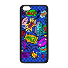 Bubbles Apple Iphone 5c Seamless Case (black)