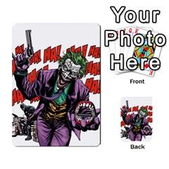 Cash N Guns   Batman Version By Twlee33 Hotmail Com   Multi Purpose Cards (rectangle)   1oc5ler4t1b6   Www Artscow Com Frontback
