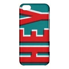 Hey Apple Iphone 5c Hardshell Case