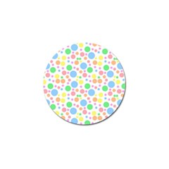 Pastel Bubbles Golf Ball Marker by StuffOrSomething