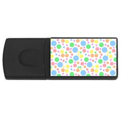 Pastel Bubbles 4gb Usb Flash Drive (rectangle) by StuffOrSomething