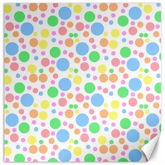 Pastel Bubbles Canvas 16  X 16  (unframed) by StuffOrSomething