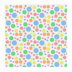 Pastel Bubbles Glasses Cloth (medium, Two Sided) by StuffOrSomething