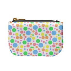 Pastel Bubbles Coin Change Purse by StuffOrSomething