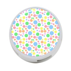 Pastel Bubbles 4 Port Usb Hub (two Sides) by StuffOrSomething
