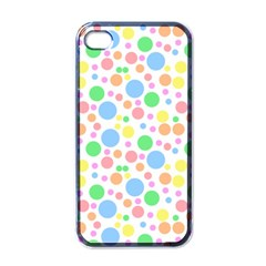 Pastel Bubbles Apple Iphone 4 Case (black) by StuffOrSomething