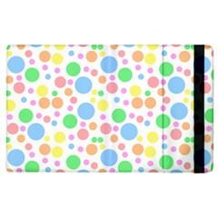 Pastel Bubbles Apple Ipad 3/4 Flip Case by StuffOrSomething