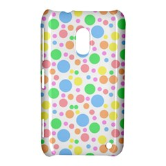 Pastel Bubbles Nokia Lumia 620 Hardshell Case by StuffOrSomething