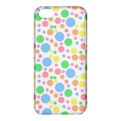Pastel Bubbles Apple Iphone 5c Hardshell Case by StuffOrSomething