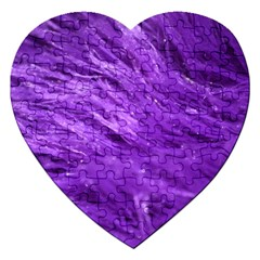 Purple Tresses Jigsaw Puzzle (heart)