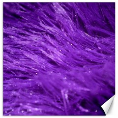 Purple Tresses Canvas 16  X 16  (unframed) by FunWithFibro