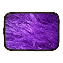 Purple Tresses Netbook Sleeve (medium) by FunWithFibro