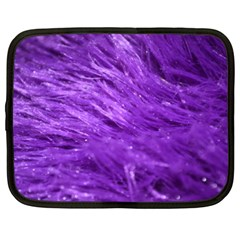 Purple Tresses Netbook Sleeve (xxl) by FunWithFibro