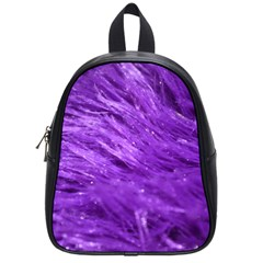 Purple Tresses School Bag (small) by FunWithFibro