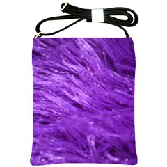 Purple Tresses Shoulder Sling Bag