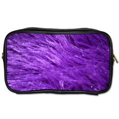Purple Tresses Travel Toiletry Bag (two Sides) by FunWithFibro