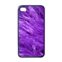 Purple Tresses Apple Iphone 4 Case (black) by FunWithFibro
