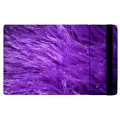 Purple Tresses Apple Ipad 2 Flip Case by FunWithFibro