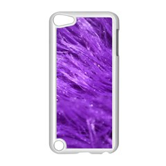 Purple Tresses Apple Ipod Touch 5 Case (white) by FunWithFibro