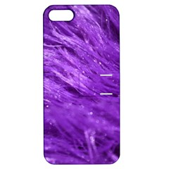 Purple Tresses Apple Iphone 5 Hardshell Case With Stand by FunWithFibro