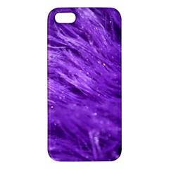 Purple Tresses Apple Iphone 5 Premium Hardshell Case
