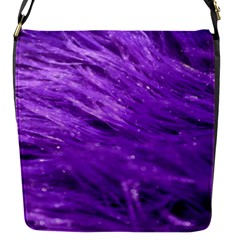 Purple Tresses Removable Flap Cover (small) by FunWithFibro