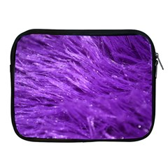 Purple Tresses Apple Ipad Zippered Sleeve by FunWithFibro