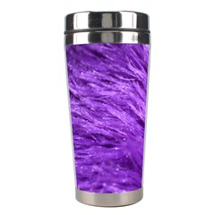 Purple Tresses Stainless Steel Travel Tumbler