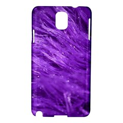 Purple Tresses Samsung Galaxy Note 3 N9005 Hardshell Case by FunWithFibro