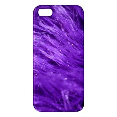 Purple Tresses Iphone 5s Premium Hardshell Case by FunWithFibro