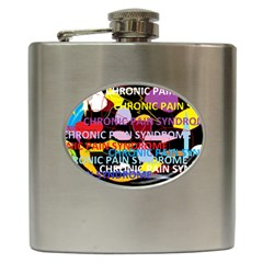 Chronic Pain Syndrome Hip Flask by FunWithFibro