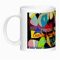 Chronic Pain Syndrome Glow In The Dark Mug by FunWithFibro