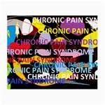 Chronic Pain Syndrome Glasses Cloth (Small, Two Sided) Back