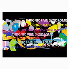 Chronic Pain Syndrome Glasses Cloth (large)