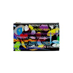 Chronic Pain Syndrome Cosmetic Bag (small) by FunWithFibro