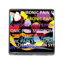 Chronic Pain Syndrome Memory Card Reader With Storage (square)