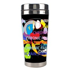 Chronic Pain Syndrome Stainless Steel Travel Tumbler by FunWithFibro