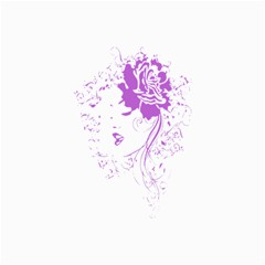 Purple Woman Of Chronic Pain Canvas 16  X 20  (unframed)