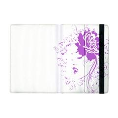 Purple Woman Of Chronic Pain Apple Ipad Mini Flip Case by FunWithFibro