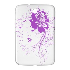 Purple Woman Of Chronic Pain Samsung Galaxy Note 8 0 N5100 Hardshell Case  by FunWithFibro
