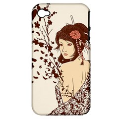 Come To Life Apple Iphone 4/4s Hardshell Case (pc+silicone) by Contest1736614
