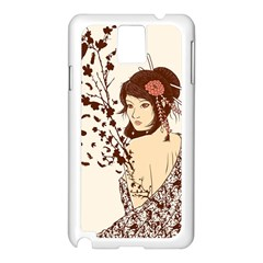 Come To Life Samsung Galaxy Note 3 N9005 Case (white) by Contest1736614