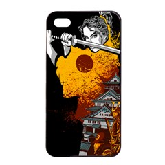 Samurai Rise Apple Iphone 4/4s Seamless Case (black) by Contest1889920