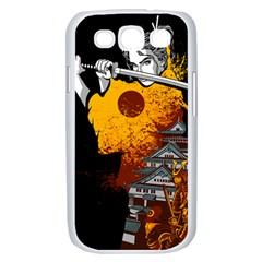 Samurai Rise Samsung Galaxy S III Case (White) by Contest1889920