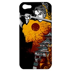 Samurai Rise Apple Iphone 5 Hardshell Case by Contest1889920