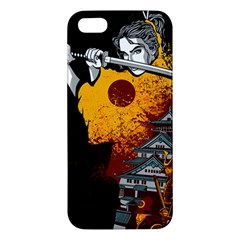 Samurai Rise Apple Iphone 5 Premium Hardshell Case by Contest1889920