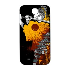 Samurai Rise Samsung Galaxy S4 I9500/i9505  Hardshell Back Case by Contest1889920