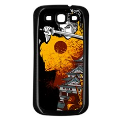 Samurai Rise Samsung Galaxy S3 Back Case (black) by Contest1889920